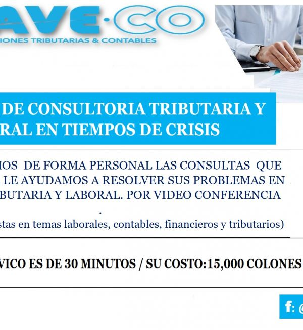 2020 04 X VIDEO ASESORIA TRIBUTARIA - LABORAL